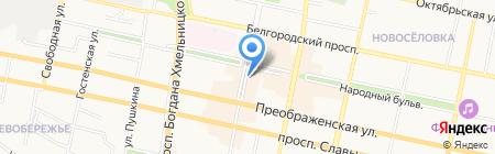 Евросеть на карте Белгорода