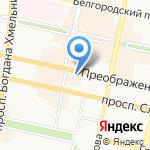 Победа на карте Белгорода