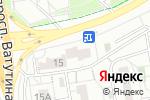 Схема проезда до компании Емеля в Белгороде