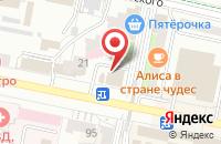 Схема проезда до компании Окна Центр в Белгороде