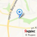 Бибика на карте Белгорода