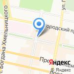 Диксис на карте Белгорода