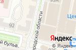 Схема проезда до компании Фирма по продаже швейных машин в Белгороде