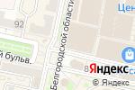 Схема проезда до компании Цитрус в Белгороде
