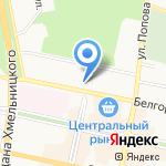 Малыш на карте Белгорода