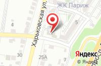 Схема проезда до компании Орелстрой в Зареченском