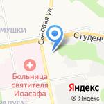 Белгородский центр сертификации и испытаний на карте Белгорода
