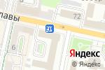 Схема проезда до компании Ростелеком в Белгороде