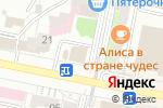Схема проезда до компании Книжный в Белгороде
