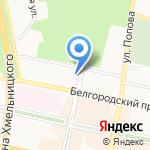 Ополе на карте Белгорода