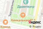 Схема проезда до компании Хинкальная №1 в Белгороде