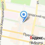 Потапыч на карте Белгорода