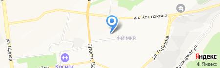 Детский сад №59 на карте Белгорода