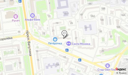 Семь дней. Схема проезда в Белгороде