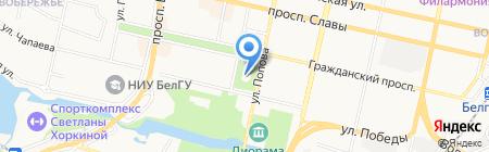 Хинкальная №1 на карте Белгорода