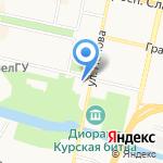 Детская художественная школа г. Белгорода на карте Белгорода