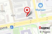Схема проезда до компании БелИнфоНалог в Белгороде