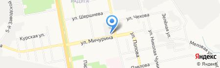 Царство цветов на карте Белгорода