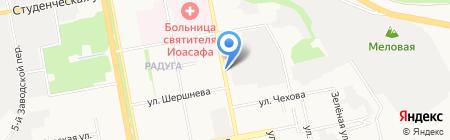 Автоэлектрик на карте Белгорода