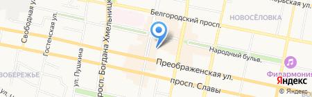 Школа им. М. Монтессори+ на карте Белгорода