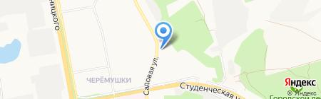 Миля на карте Белгорода
