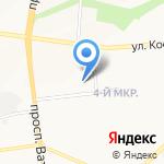 Детский сад №59 комбинированного вида на карте Белгорода