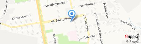 Белгородский дворец детского творчества на карте Белгорода