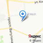 СДЮСШОР №3 на карте Белгорода