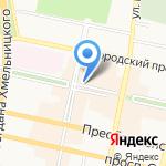 Технофф на карте Белгорода