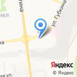 Лиман на карте Белгорода