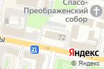 Схема проезда до компании Департамент экономического развития Белгородской области в Белгороде