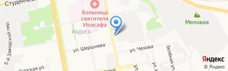 ЦТО ТЕМПСЕРВИС на карте Белгорода