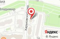 Схема проезда до компании Тегра Корм в Белгороде