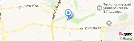Тегра Корм на карте Белгорода