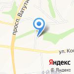 Сан ИнБев на карте Белгорода
