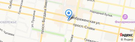Департамент экономического развития Белгородской области на карте Белгорода