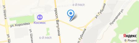 Santa Monica на карте Белгорода