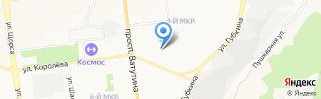 У Дома на карте Белгорода