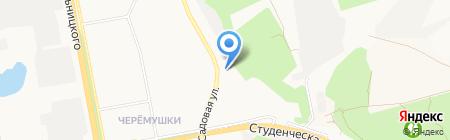 Родное-луговое на карте Белгорода