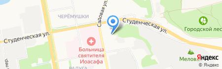 СоюзНефтеГаз на карте Белгорода