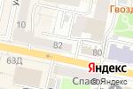 Схема проезда до компании Управление Федеральной антимонопольной службы по Белгородской области в Белгороде