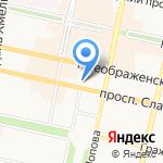 Департамент финансов и бюджетной политики Белгородской области на карте Белгорода