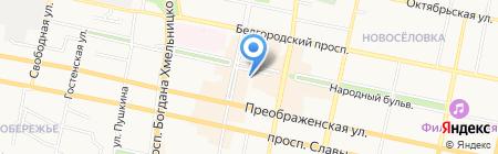 Белгородский визовый центр на карте Белгорода