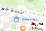 Схема проезда до компании Алиса в стране чудес в Белгороде