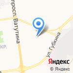 Средняя общеобразовательная школа №39 на карте Белгорода