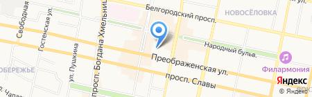ЕНДС-Белгород на карте Белгорода