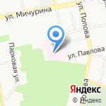 Городская детская больница на карте Белгорода