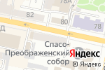 Схема проезда до компании Легкий шаг в Белгороде