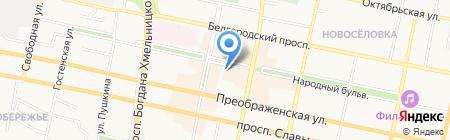 Мой православный мир на карте Белгорода