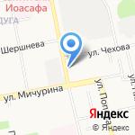 Каскад Плюс на карте Белгорода